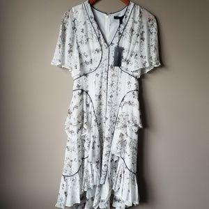 BCBGMazAzira | NWT Chiffon Silk Dress Size 6